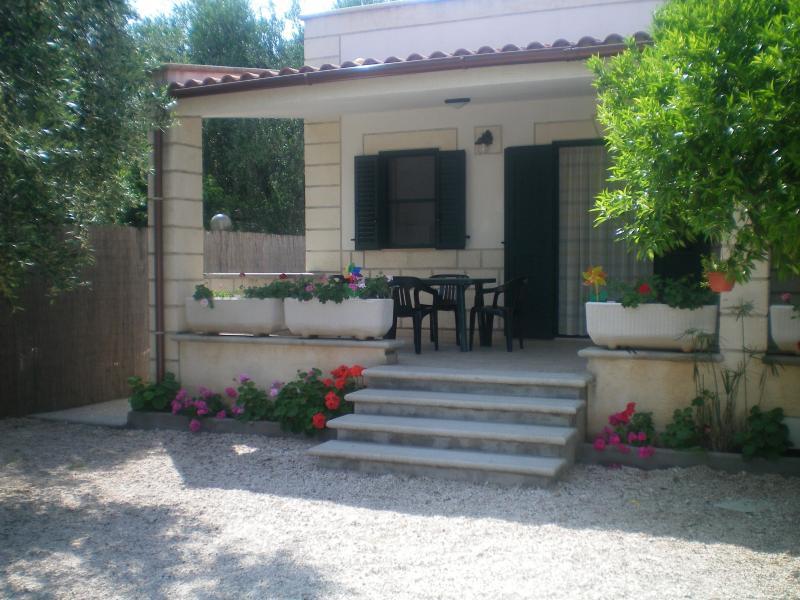 Esterno con veranda