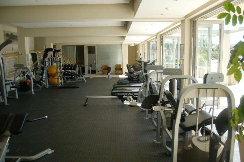 Fully equipped gym, access for the duration of your stay for a small fee