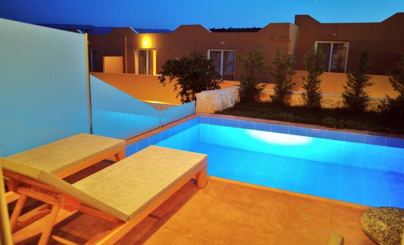 Rimondi Grand Villas and Spa 1 with private pool, vacation rental in Skaleta
