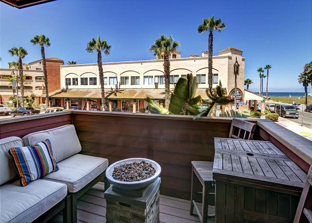 Surf Passage Main Balcony where you will be able to Watch Stunning Sunsets
