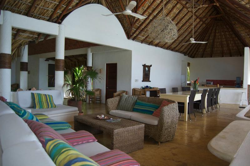 Spacious living room, dining room & kitchen mean that even the largest group can enjoy peace & quiet