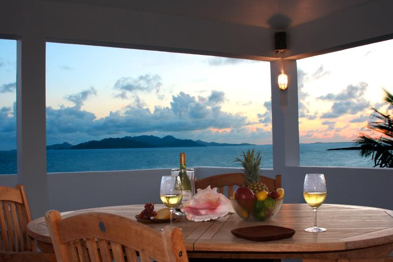 Enjoy spectacular panoramic sunsets from the Almond Tree villa Crow's Nest every night.
