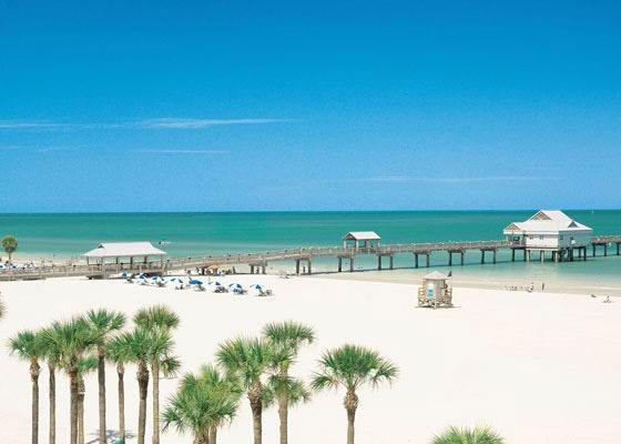 Clearwater Beach the #1 rated beach in the US is only a short  23 mile drive away.