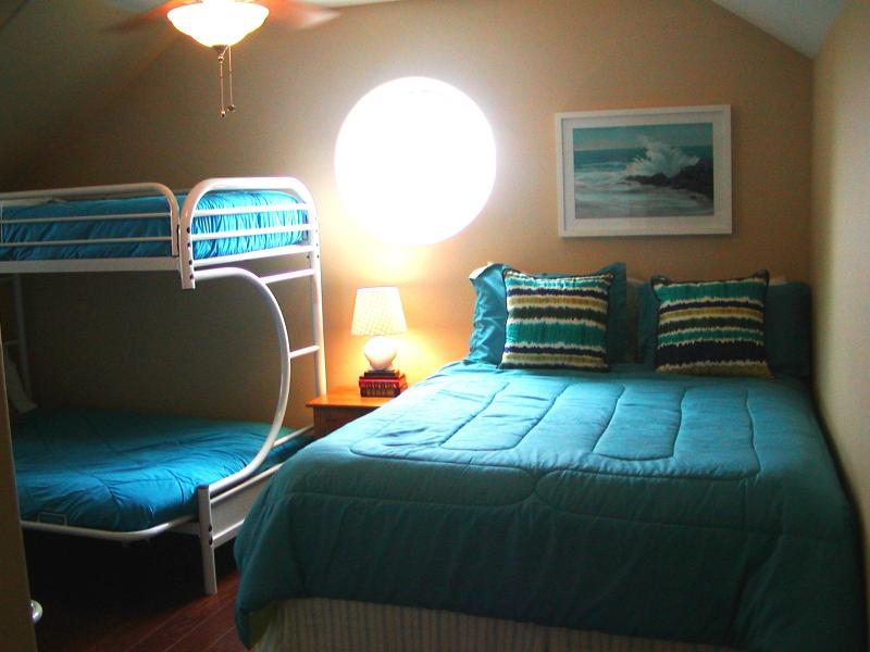 Cute and spacious bedroom#4 has sleeping for 8.