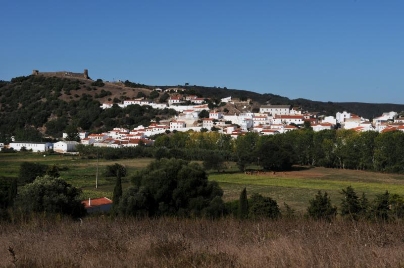 Historical town of Aljezur with Moorish castle