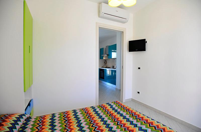 Mira6 - San Vito Lo Capo - 3) Camera Letto Matrimoniale - 550mt dalla spiaggia