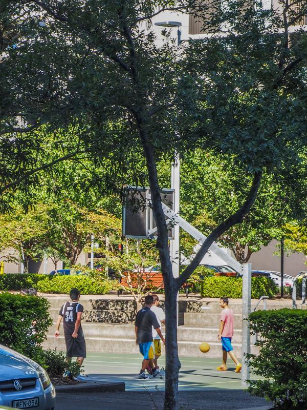 neighbourhood basketball courts