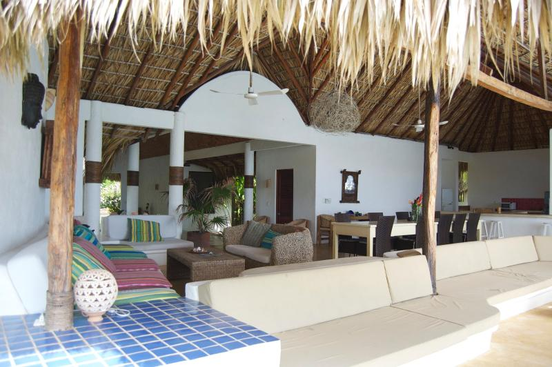 Lounge poolside on our comfortable sofas, in a hammock, or on a sunbed. What could be better?