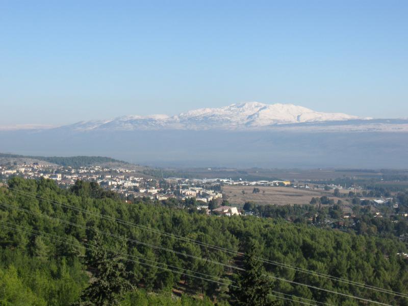 Foto de la montaña Hermon