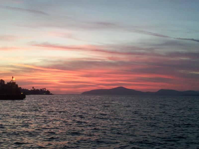 Amazing Gulluk sunset