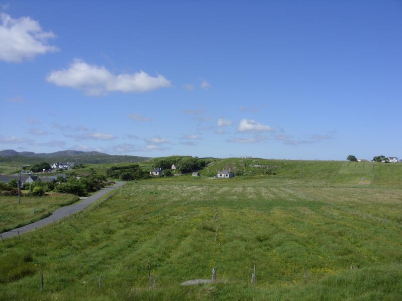 Another local view with the Standing Stones at the top of the hill