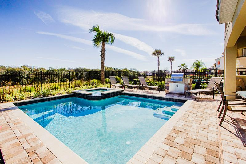 Golf View Pool Area