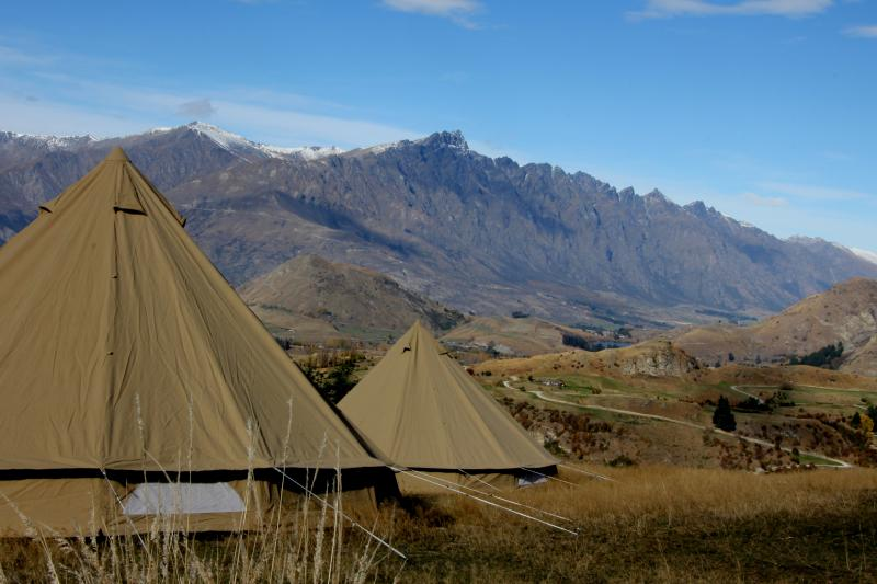 Private camp Coronet Peak Queenstown