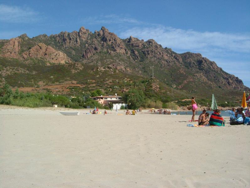 casa vista da spiaggia