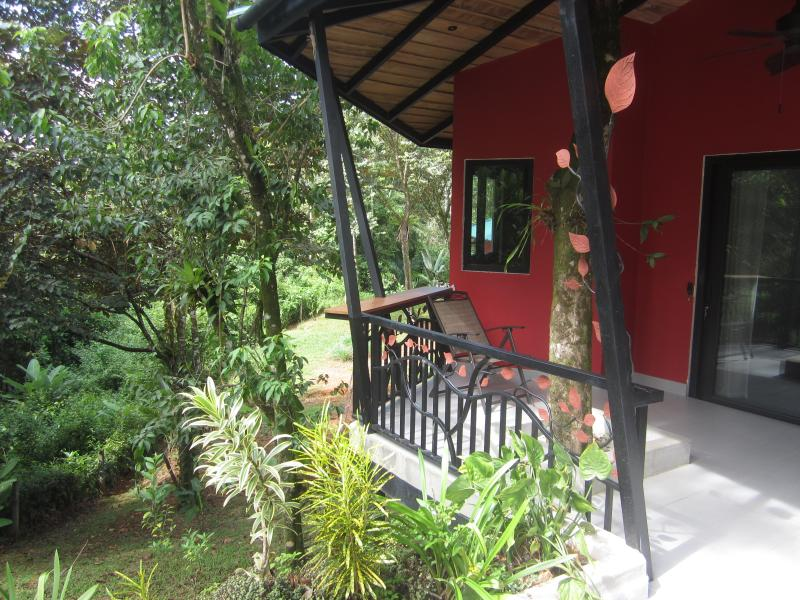 Terrace of your bungalow, completely private