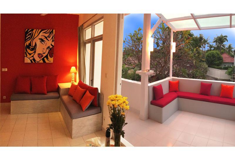 living room / terrace !