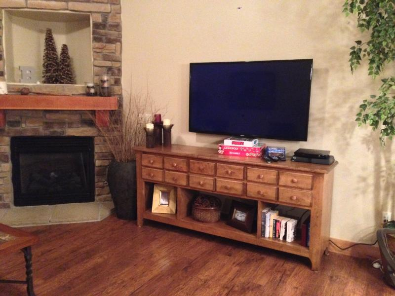 55' Smart HDTV in Living Room