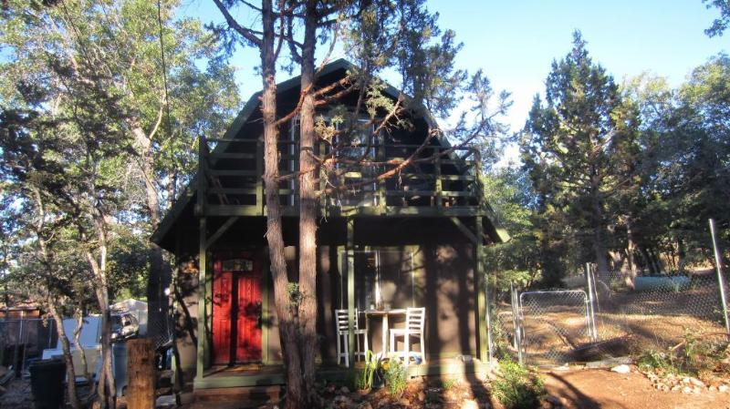 Two story cabin a block away from national forest