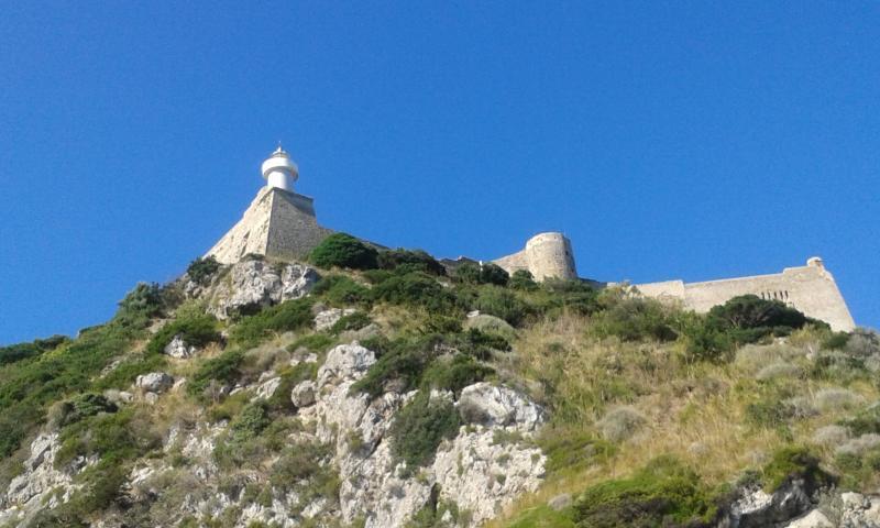 Roca Spagnola, rocky side