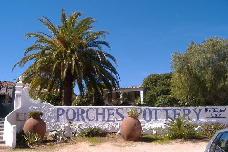 Porches is famous for it's local pottery