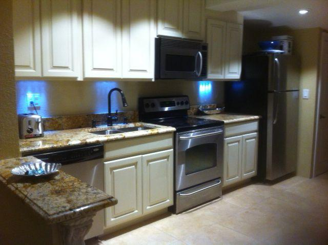 NEW!!Stainless steel kitchen with granite