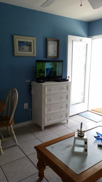 Cable TV in Living Room
