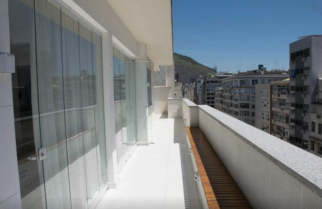 terrace 180 degrees, frontal sea view