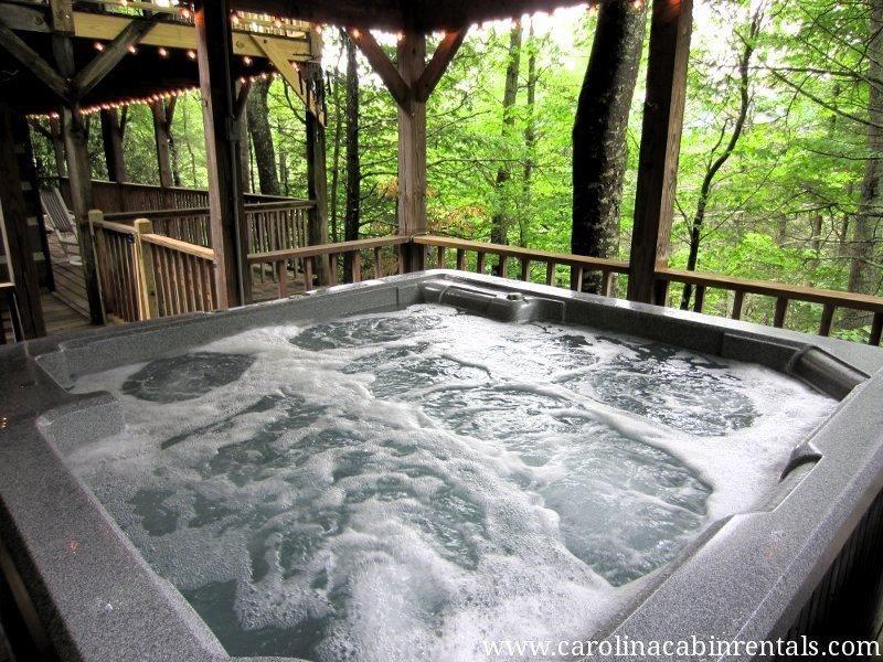 Raccoon Ridge Hot Tub