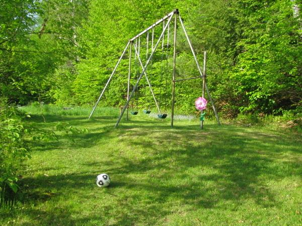 The original swing set from the 1920s