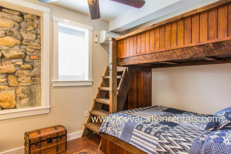 Guest Bedroom with Loft Bed 1st Level