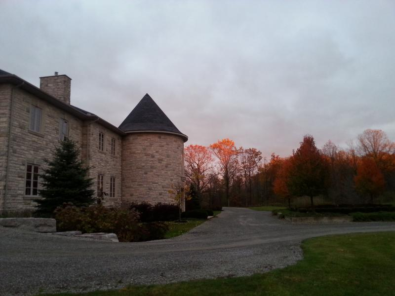 late fall property view