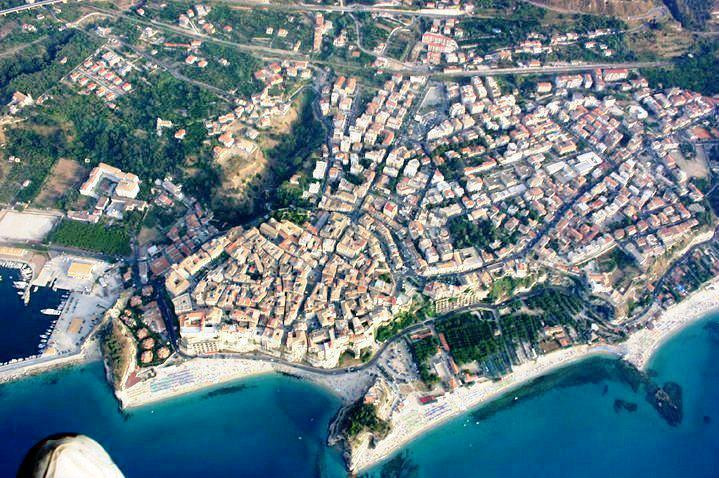 Tropea from the sky
