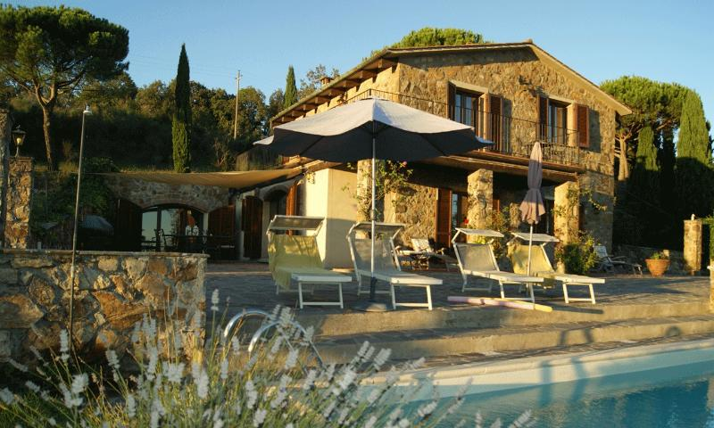 Guarda Mare -  best base camp for your tuscany stay