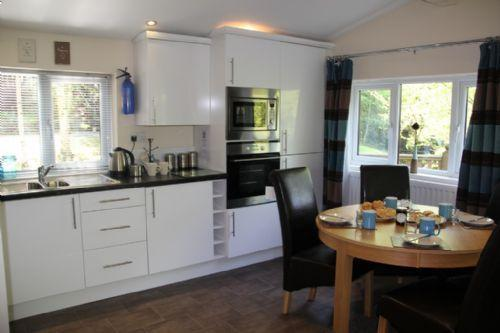 Chrisenroy lodge Whitecross bay. a modern two bedroom  central heated lodge.