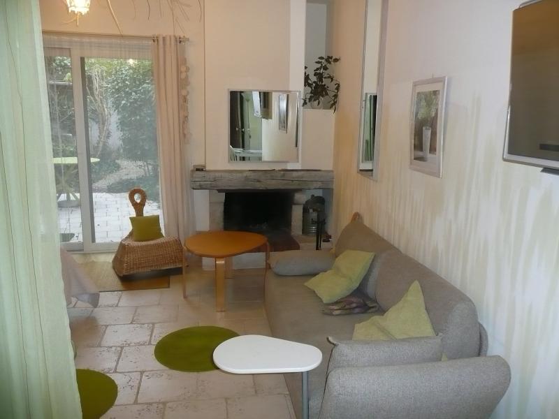 Gîte Jardin - coin salon