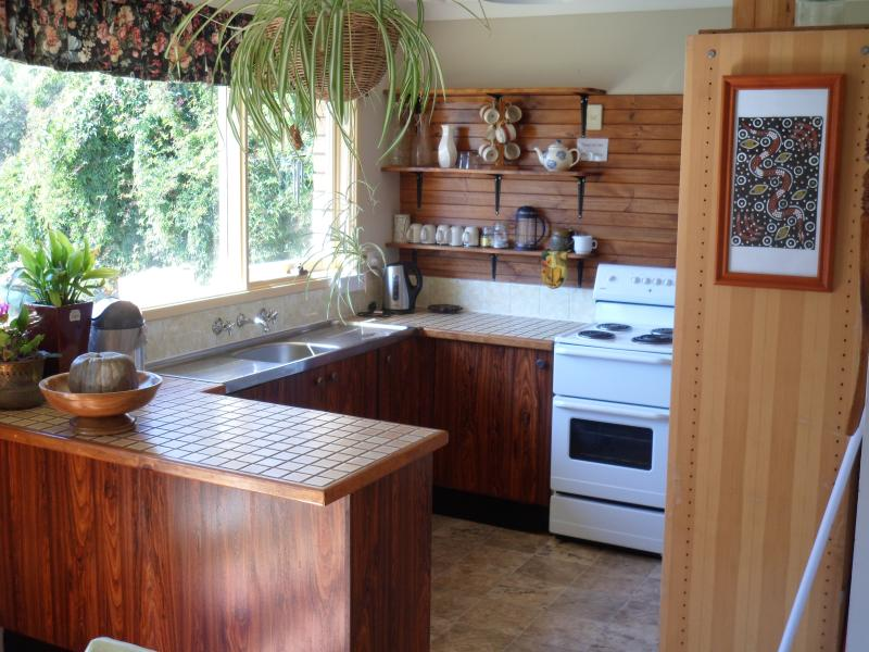 Complete basic kitchen with everything you would need on a holiday