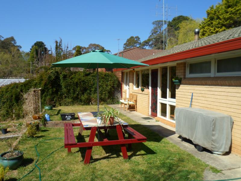 Outside entertainment area. BBQ facilities available