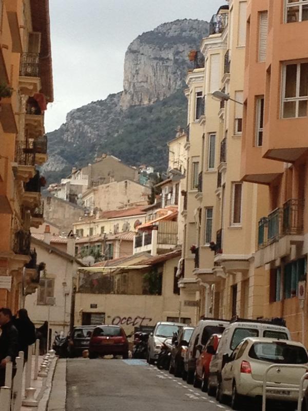 Vista calle Alpes-Maritimes