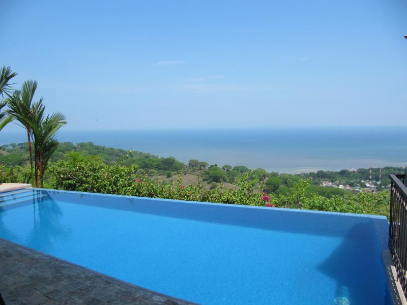 Ocean view from the infinity pool
