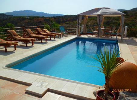 Pool area and views 2015
