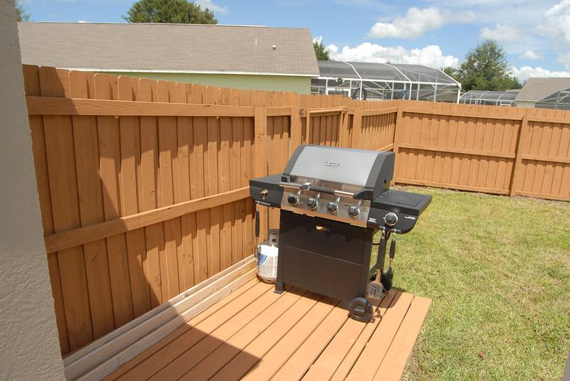 Gas Grill included no extra charge