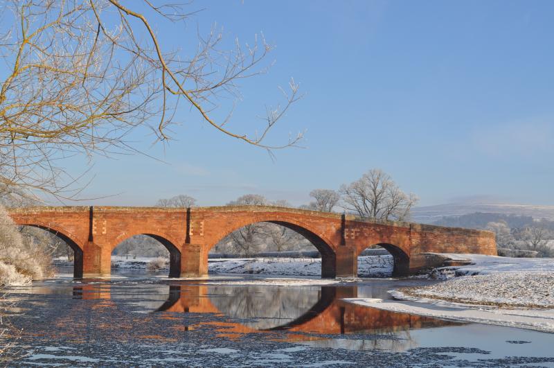El puente en Lazonby