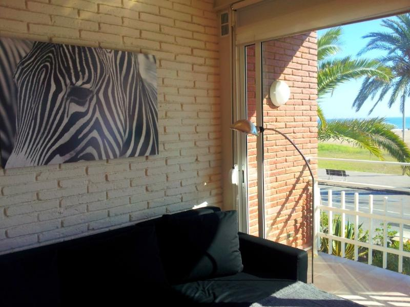 sala de estar com vistas