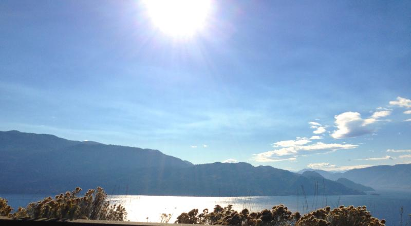 Lake Okanagan is a summer mecca for swimming, sailing, boating and boarding and just four mins away.
