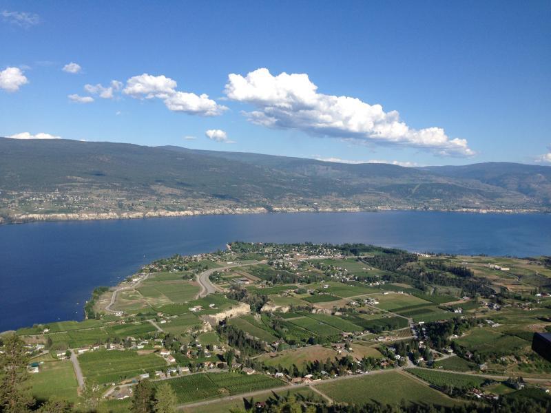 Summerland est situé au coeur de la vallée de l'Okanagan avec des vues spectaculaires.