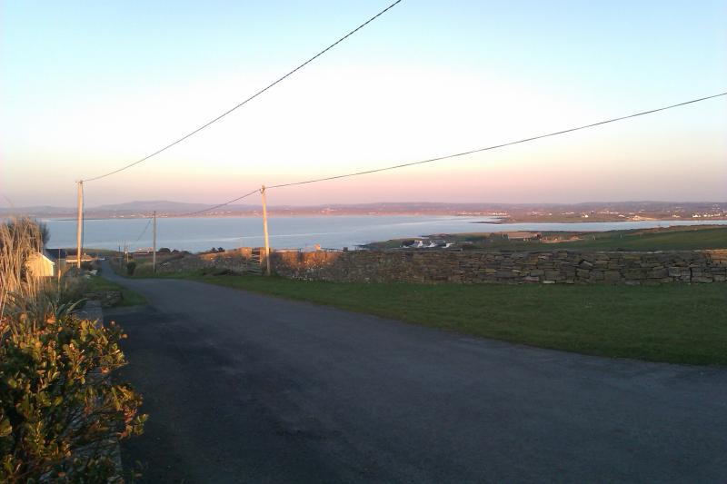 View towards Doonbeg Bay & White Strand Beach