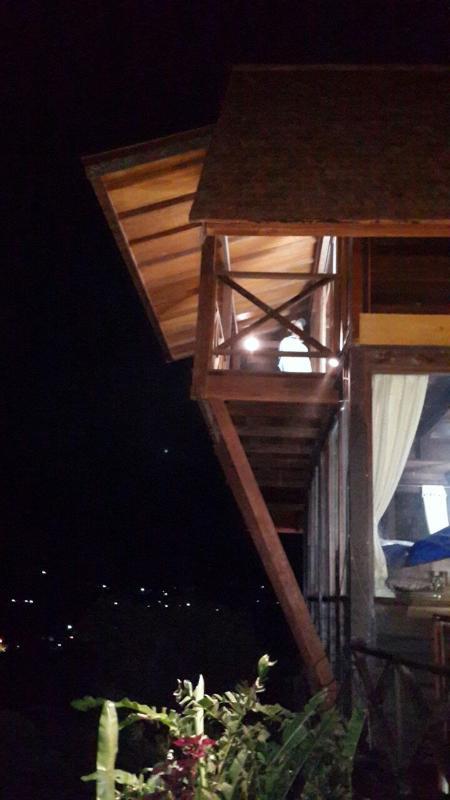 New balcony on the top bedroom