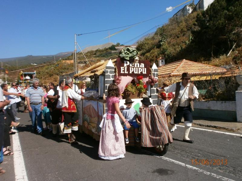 Join the locals for the Fiestas in Buen Paso in July