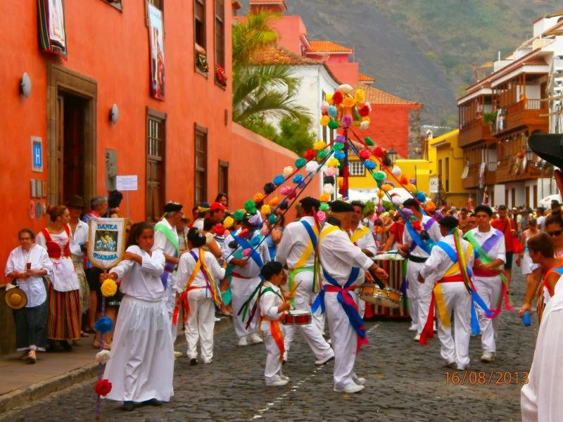 Join in the local fiestas.  This one is in Garachico 8km away.