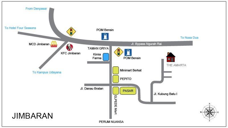 map villa location